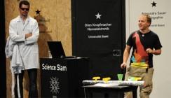 Erfolgreicher erster Science Slam der Uni Basel
