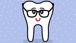 Mit den Zähnen sieht man besser