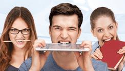 Komet-Gewinnspiel: Zähne zeigen und iPad gewinnen
