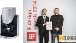 Perfekt in Form: inEos X5 von Sirona gewinnt iF Design Award 2014