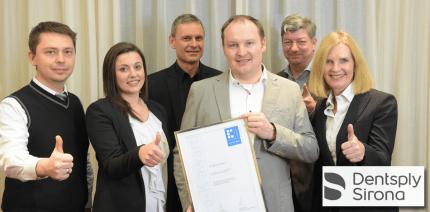 pro-K Award für LEDview Plus von Dentsply Sirona