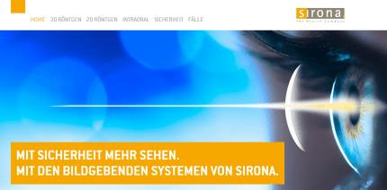 Mit Sicherheit mehr sehen: Dentsply Sirona launcht neue Webseite