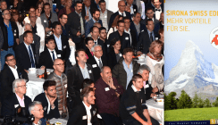 Sirona feiert neuen Showroom in der Schweiz