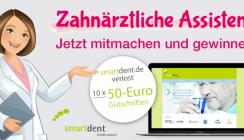 Jetzt mitmachen und gewinnen! Sparen mit smartdent.de
