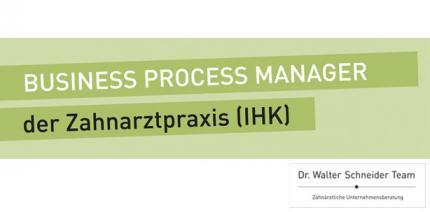 Neue Kurstermine im Herbst: Business Process Manager der Zahnarztpraxis