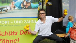 """Zahnärztekammer vertieft Projekt """"Sport und Zähne"""""""