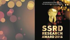 SSRD Research Award 2016 ausgeschrieben