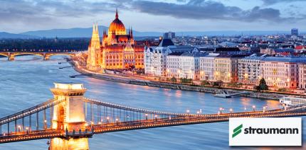 Straumann: Kurs am Humanpräparat vom 6. bis 9. Oktober in Budapest