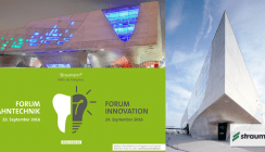Straumann Forum Innovation – Sharing insights