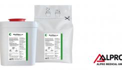 Standardhygiene mit gebrauchsfertigen alkoholfreien MaxiWipes wet