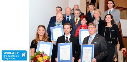 Wrigley Prophylaxe Preis 2015 in München verliehen