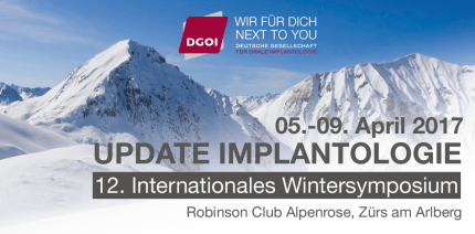 12. Internationales Wintersymposium der DGOI in Zürs am Arlberg