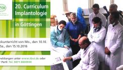 DZOI Curriculum Implantologie startet im Oktober