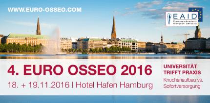 4. EURO OSSEO® 2016: Jetzt noch restliche Plätze sichern!