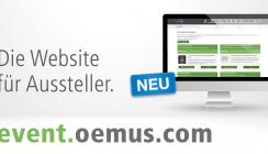 Eventbuchung für Aussteller jetzt noch einfacher: event.oemus.com