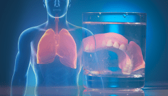 Nächtliches Tragen der Prothese erhöht Risiko für Lungeninfekt