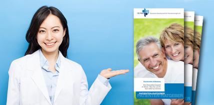 Druckfrisch: Patienten-Ratgeber zu Parodontitis und Diabetes