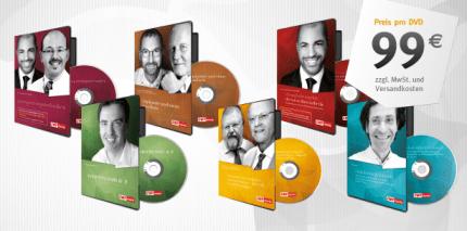 DVDs zu Spezial-Themen der Implantologie, Ästhetik und Endodontie