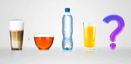 Umfrage zum Verzehr von Getränken nach einer Weisheitszahn-OP