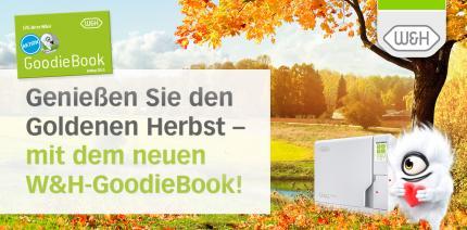 Das neue W&H GoodieBook: Genießen Sie den Goldenen Herbst