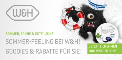 W&H Sommer: Reparatur-Service nutzen und Goodies sichern!