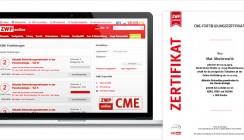 Praxisnah, kostenfrei und zertifiziert: CME-Fortbildung auf ZWP online