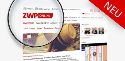 Zeit für Neues: ZWP online mit neuem Logo