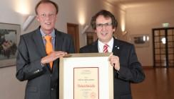 Prof. Dr. Stefan Zimmer mit Tholuck-Medaille ausgezeichnet