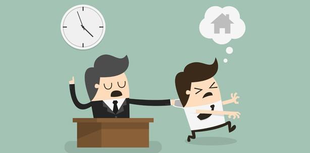 Abgefickte Überstunden im Büro