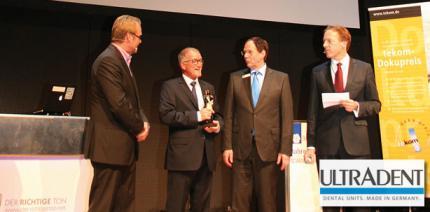 ULTRADENT erhält tekom-Preis 2015