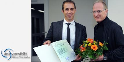 Uni Witten/Herdecke beruft Prof. Andree Piwowarczyk