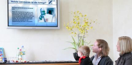Kammer kooperiert mit TV-Wartezimmer
