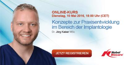 Webinar: Praxisentwicklung in der Implantologie