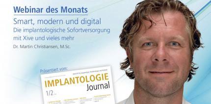 Webinar: Implantologische Sofortversorgung mit Xive
