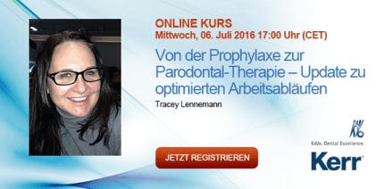 Webinar: Ein optimaler Workflow für Prophylaxe und Parodontaltherapie