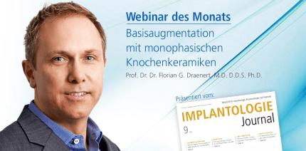 Webinar: Basisaugmentation mit monophasischen Knochenkeramiken
