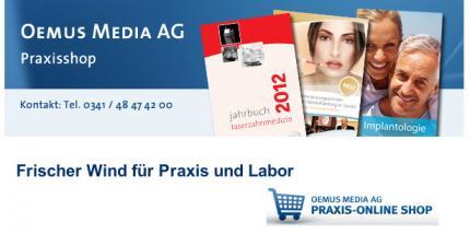 Neuer Praxis-Online-Shop der OEMUS MEDIA AG