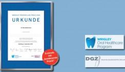 """Wrigley Prophylaxe Preis erstmals mit """"Sonderpreis Praxis"""""""