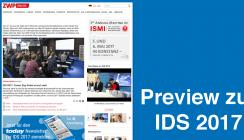 Preview zur IDS 2017: Die Leitmesse der Dentalbranche im Überblick