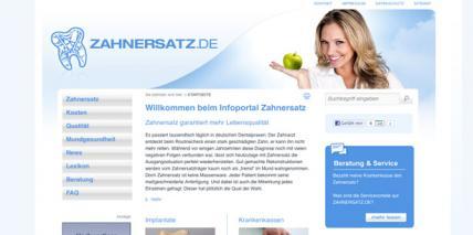 Neues Verbraucherportal zahnersatz.de gestartet