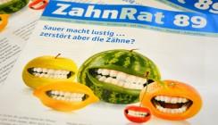 Sauer macht lustig, zerstört aber die Zähne!