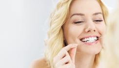 Unbeliebte Zahnseide: Die Amis flossen zu wenig