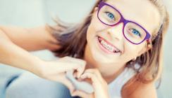 Die Mehrzahl der Kinder und Jugendlichen hat eine Zahnspange