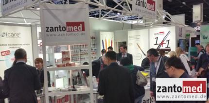 Zantomed präsentierte innovative Produkte auf der IDS 2015