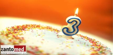 Zantomed feiert Geburtstag