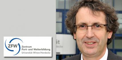 Prof. Dr. Stefan Zimmer spendet Ehrenpreis-Dotierung