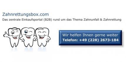 Zahnrettungsbox.com begrüßt den 100. Kunden