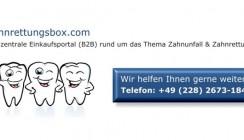 Zahnrettungsbox.com erfolgreich gestartet