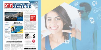 Jetzt online lesen: 10. Ausgabe der Zahntechnik Zeitung