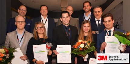 3M Oral Care European Talent Award 2017 verliehen
